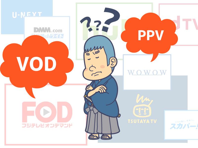 VOD入会前に知っておく基礎知識と専門用語の解説