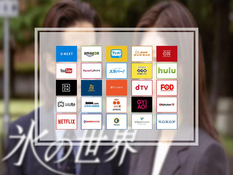 氷の世界(ドラマ全11話)を無料で見放題できる動画配信サービス10社まとめ