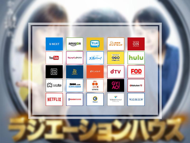 ラジエーションハウス(全11話)|無料で見放題できる動画配信サービス10社まとめ